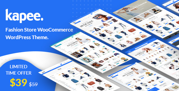Kapee - Fashion Store WooCommerce Theme