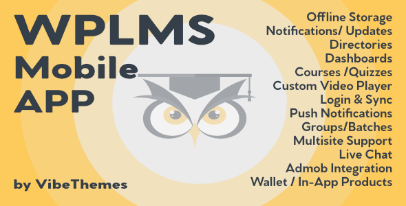 WPLMS Learning Management System App for Education & eLearning