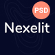 Nexelit - It Solution & Startup Business PSD Template