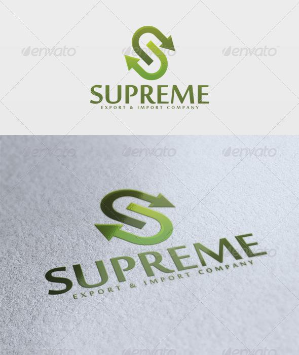Supreme Logo - Letters Logo Templates