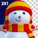 Snowman Merry Christmas - VideoHive Item for Sale