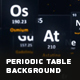 Periodic Table Background - VideoHive Item for Sale