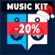 Happy Uplifting Light Positive Pop Music Kit