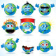 Cartoon Earth - GraphicRiver Item for Sale