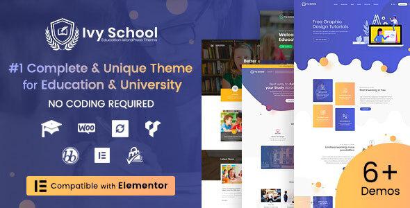 IvyPrep   Education & School WordPress Theme