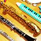 Flute Jazz Ballad Logo