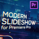 Cinematic Modern Slideshow for Premiere Pro - VideoHive Item for Sale