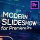 Cinematic Modern Slideshow for Premiere Pro