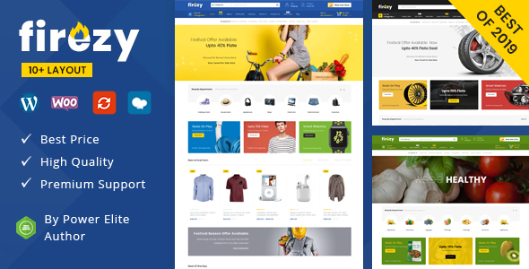 firezy - Multipurpose WooCommerce Theme