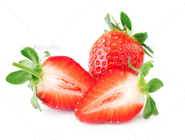 Fresh ripe strawberries - Stock Photo - Images