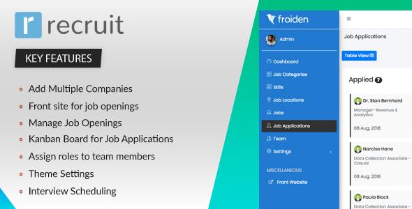 Recruit - Recruitment Manager