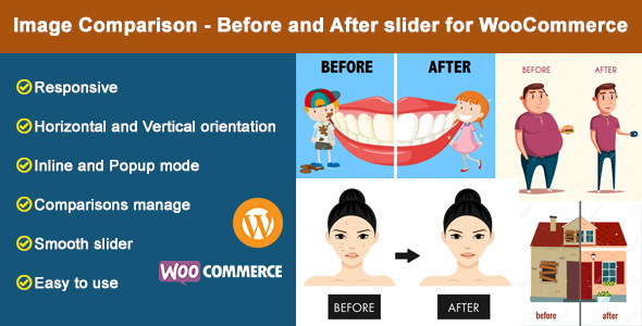 Download Image Comparison – Before and After slider for WooCommerce Free Nulled