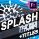 Cartoon Splash FX And Titles | Premiere Pro MOGRT - VideoHive Item for Sale