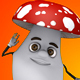 Mushroom 3d Character - Disco Dance (2-Pack) - VideoHive Item for Sale