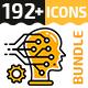 192+ Icons Bundle — YELLICONS
