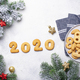 New Year cookies in shape 2020 - PhotoDune Item for Sale