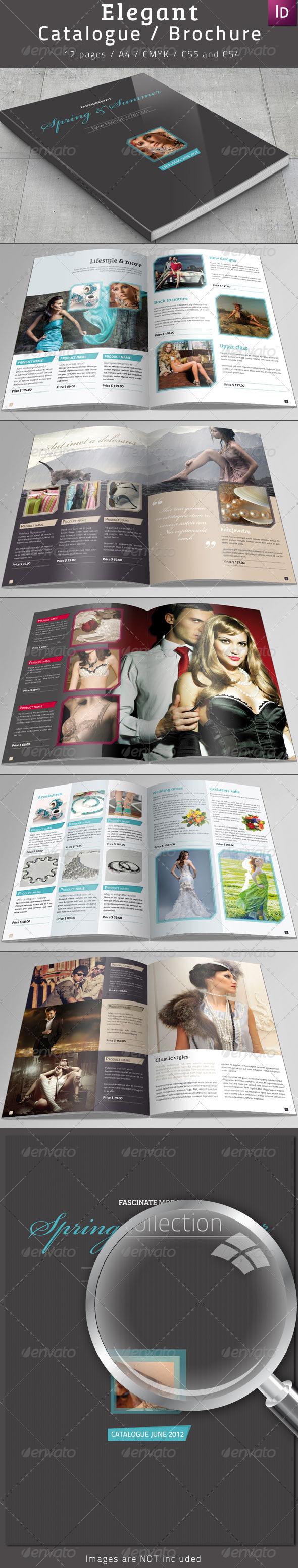 Elegant Catalogue / Brochure - Catalogs Brochures