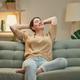 woman resting on sofa - PhotoDune Item for Sale