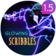 Glowing Scribbles - VideoHive Item for Sale