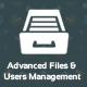 Laravel - Advanced Files & Users Management