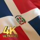 Dominican Republic Flag - 4K - VideoHive Item for Sale