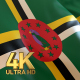 Dominica Flag - 4K - VideoHive Item for Sale
