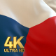 Czech Republic Flag - 4K - VideoHive Item for Sale