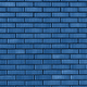 Brick wall texture. Background with copy space for design. Trendy blue and calm color - PhotoDune Item for Sale