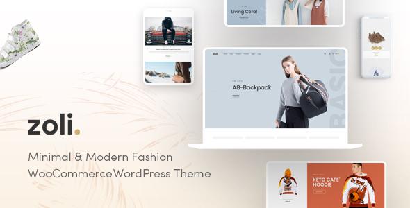 Zoli - Fashion WooCommerce WordPress Theme