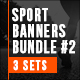 Sport Fitness Banners Bundle #2