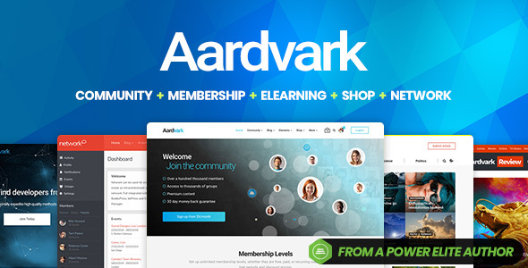 Download Aardvark – Community, Membership, BuddyPress Theme Nulled
