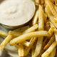 Homemade French Fries with Ranch Dressing - PhotoDune Item for Sale