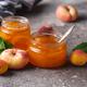 Apricot jam in glass jar - PhotoDune Item for Sale