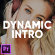 Dynamic Fast Intro for Premiere Pro - VideoHive Item for Sale