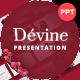 Devine Floral Ornament Presentation Template