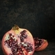 Pomegranate Fruits on a Dark Background - PhotoDune Item for Sale