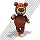 Teddy Bear Toy Disco Dance - VideoHive Item for Sale