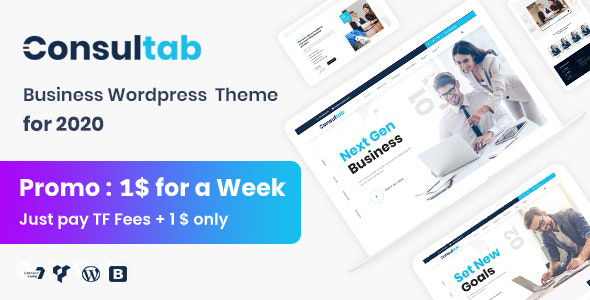 5 Best Professional Corporate WordPress Themes  for December 2019
