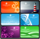 Set of colorful business cards - GraphicRiver Item for Sale