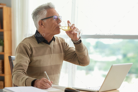 Working writer - Stock Photo - Images