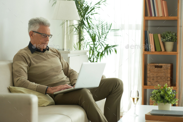 Working on laptop - Stock Photo - Images