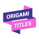 Origami Titles - VideoHive Item for Sale