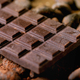 Dark chocolate with cocoa - PhotoDune Item for Sale