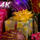 Flashing Garlands And Christmas Ornaments - VideoHive Item for Sale