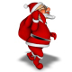 Santa 3D Character - Walk with Bag - VideoHive Item for Sale