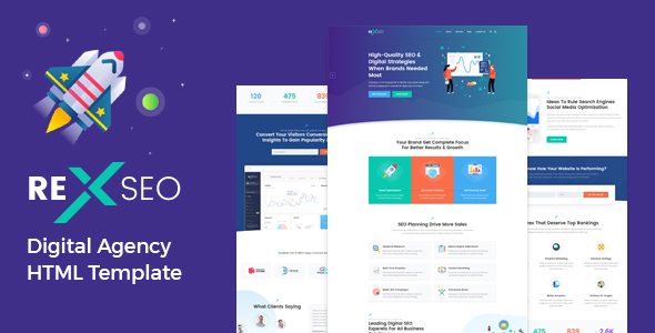RexSeo - SEO /Digital Agency HTML5 Template