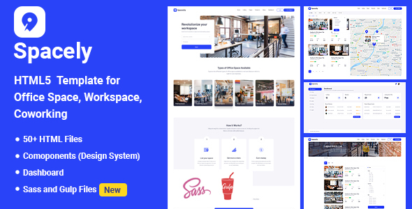 Spacely - Realtor Directory & Listing Bootstrap Template