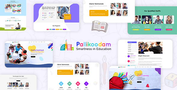 Pallikoodam - School WordPress Theme