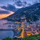 Dusk in Amalfi on the coast of the same name - PhotoDune Item for Sale