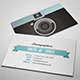 Sleek Illustrated Photography Business Card - GraphicRiver Item for Sale
